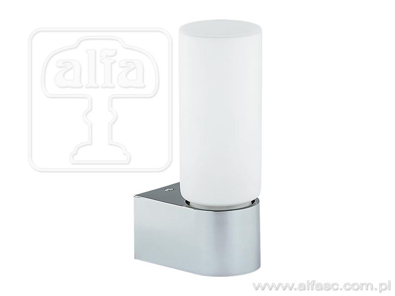 ALFA • PORI CHROM, fürdőszobai fali lámpa, ALFA