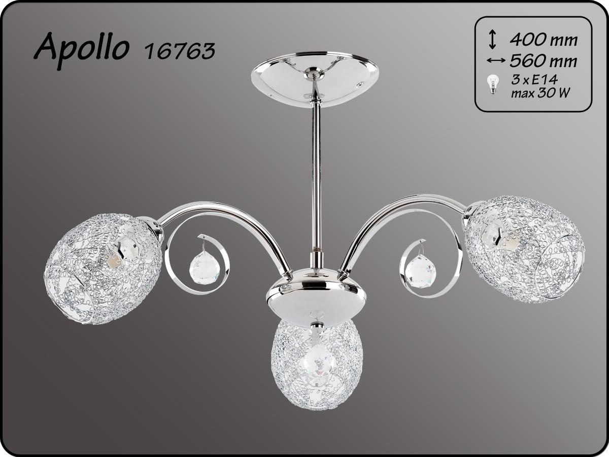 ALFA • APOLLO, 3 ágú mennyezeti csillár, ALFA