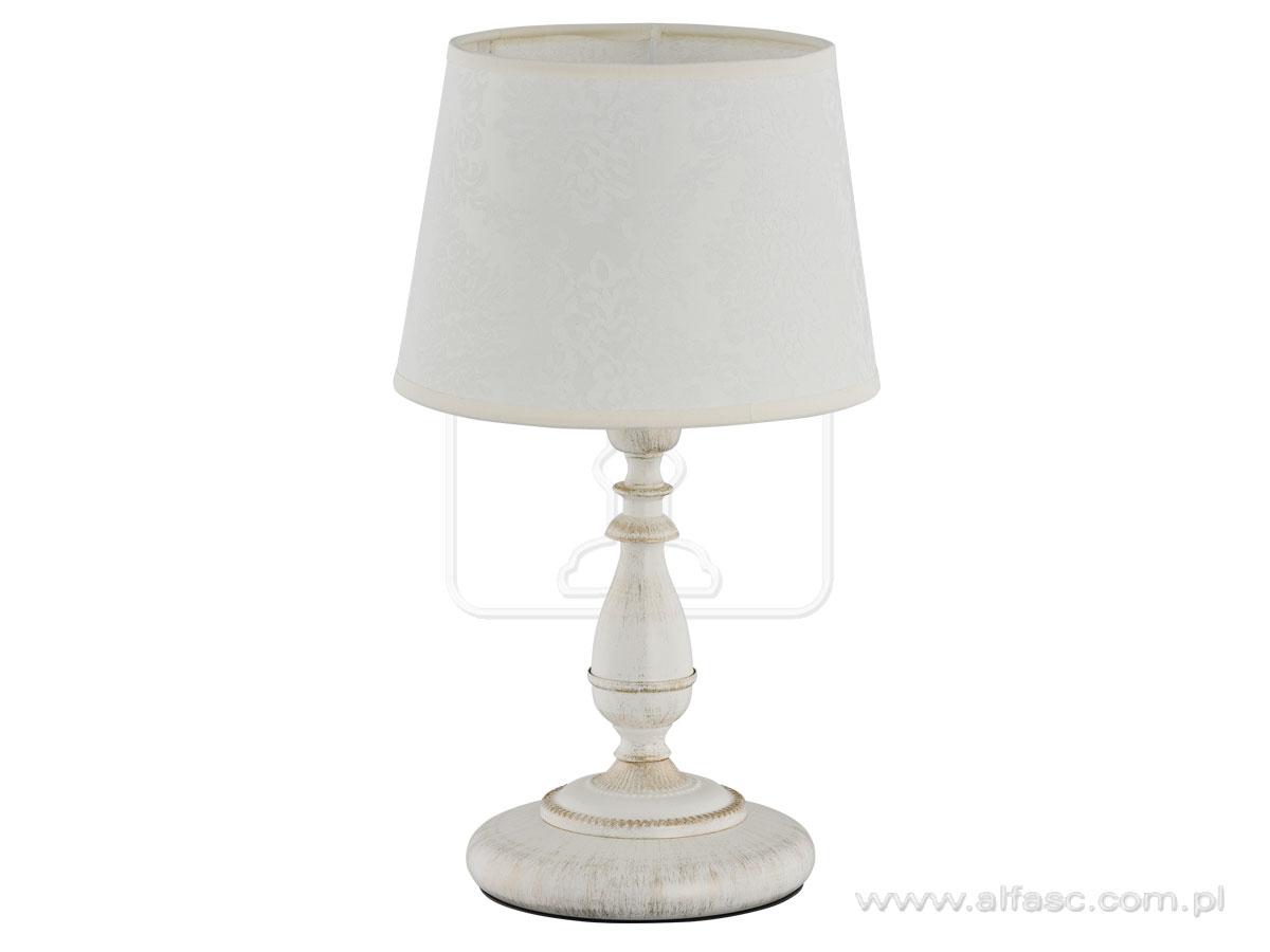 ALFA • ROKSANA WHITE, asztali lámpa, ALFA