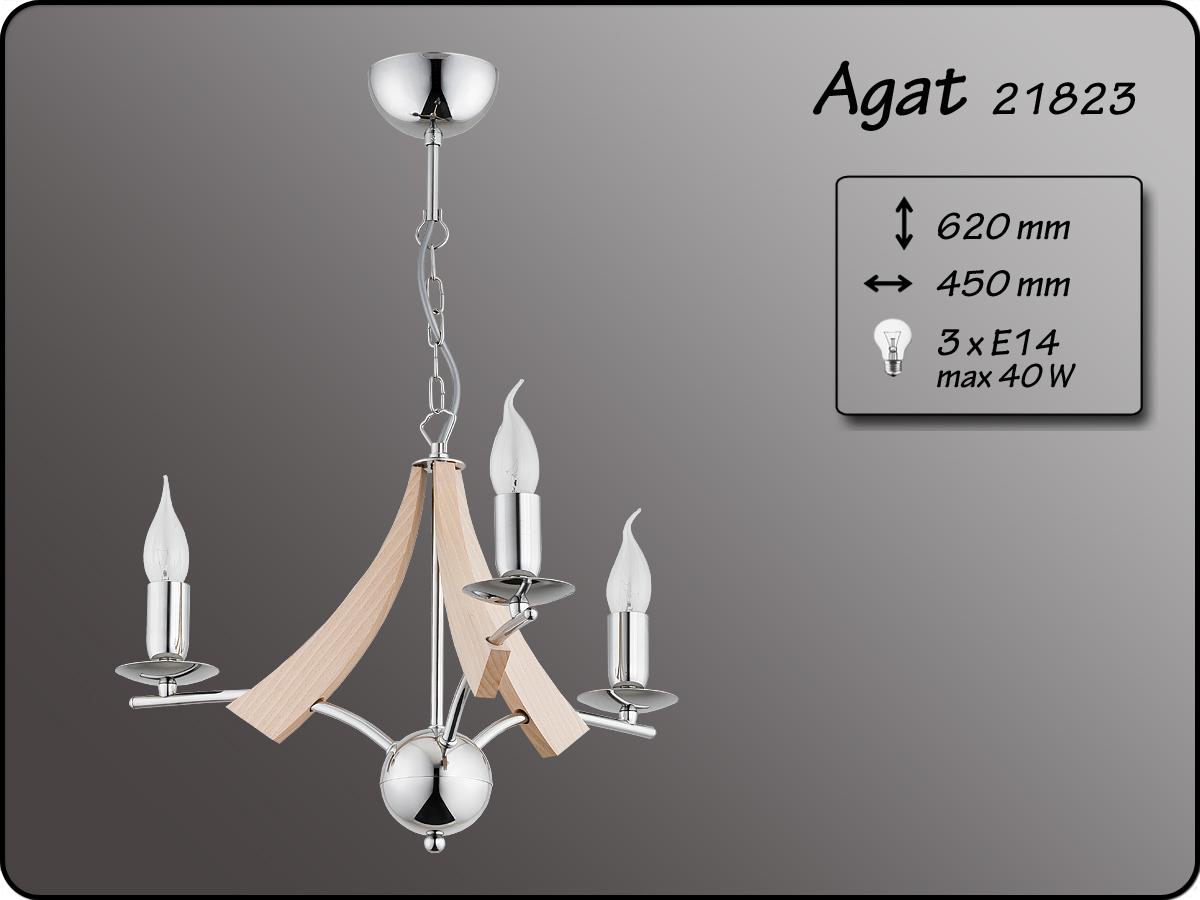 ALFA • AGAT, 3 ágú csillár, ALFA