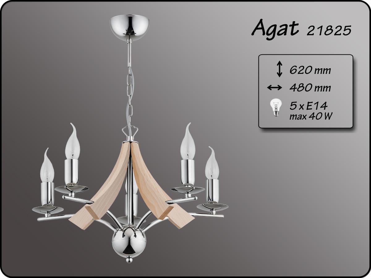ALFA • AGAT, 5 ágú csillár, ALFA
