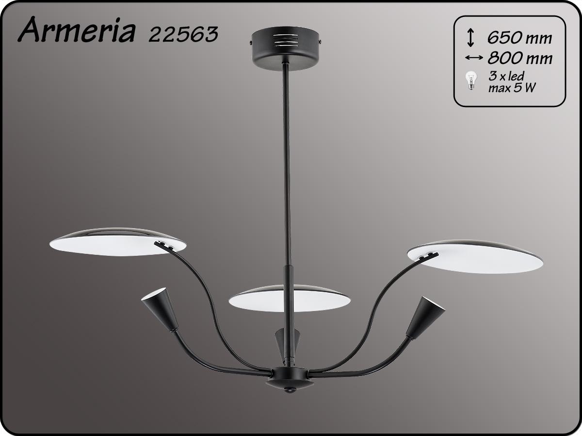 ALFA • ARMERIA BLACK, 3 ágú csillár, ALFA