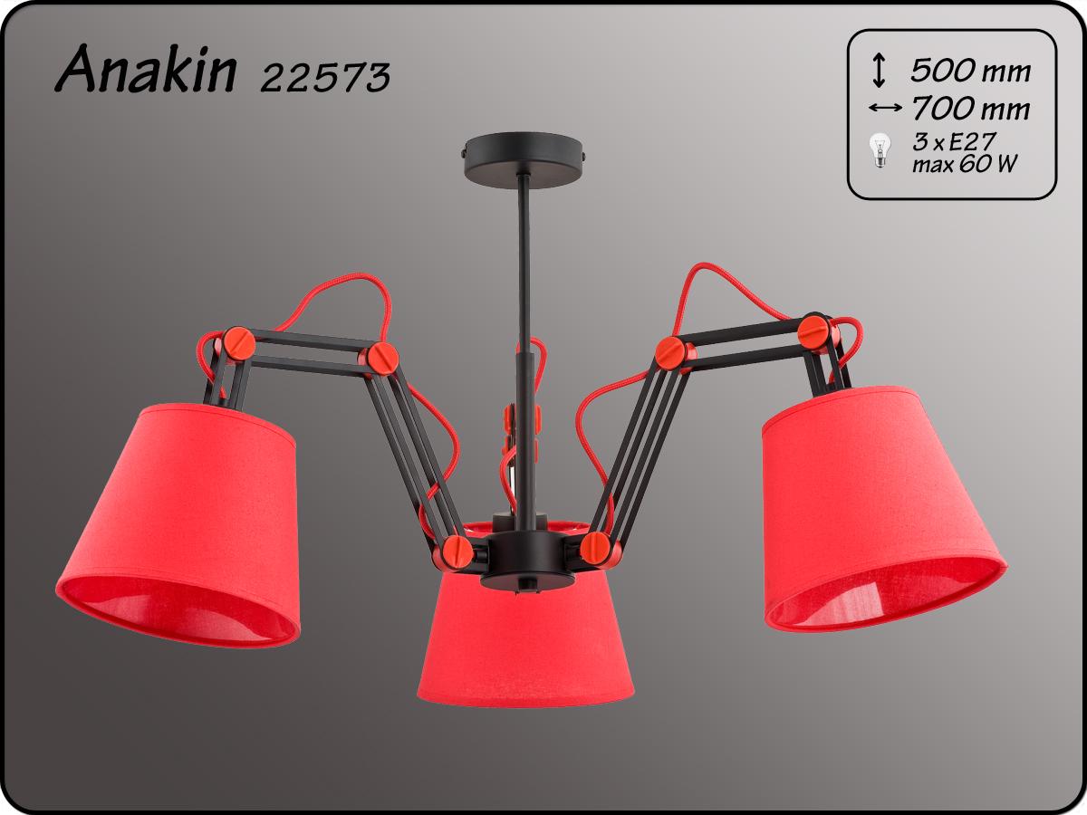 ALFA • ANAKIN RED, 3 ágú csillár, ALFA