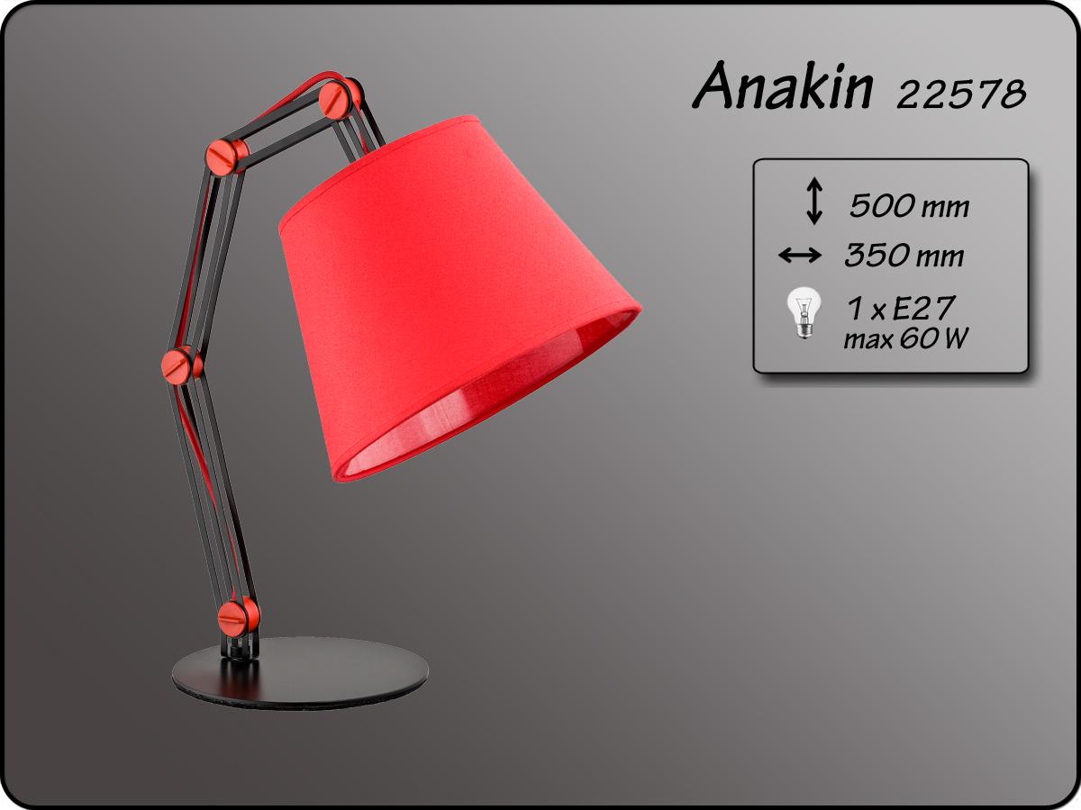 ALFA • ANAKIN RED, asztali lámpa, ALFA