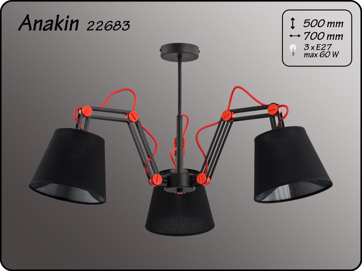 ALFA • ANAKIN BLACK, 3 ágú csillár, ALFA