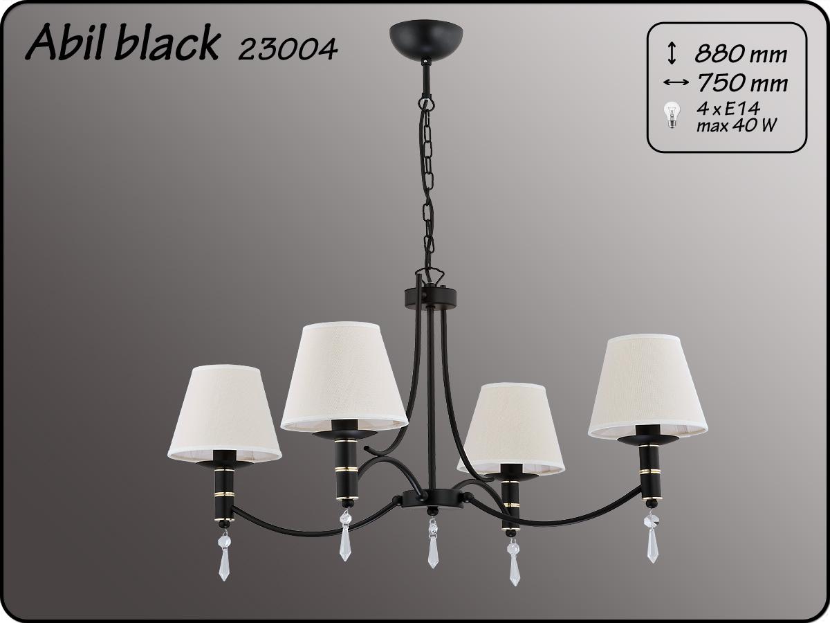 ALFA • ABIL BLACK GOLD, 4 ágú csillár, ALFA