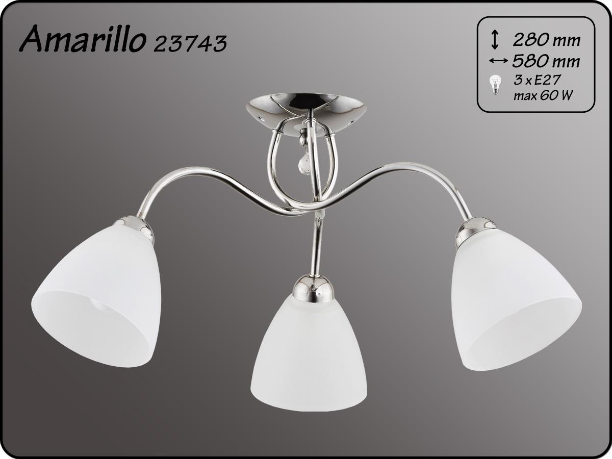 ALFA • AMARILLO CHROM, 3 ágú mennyezeti lámpa, ALFA