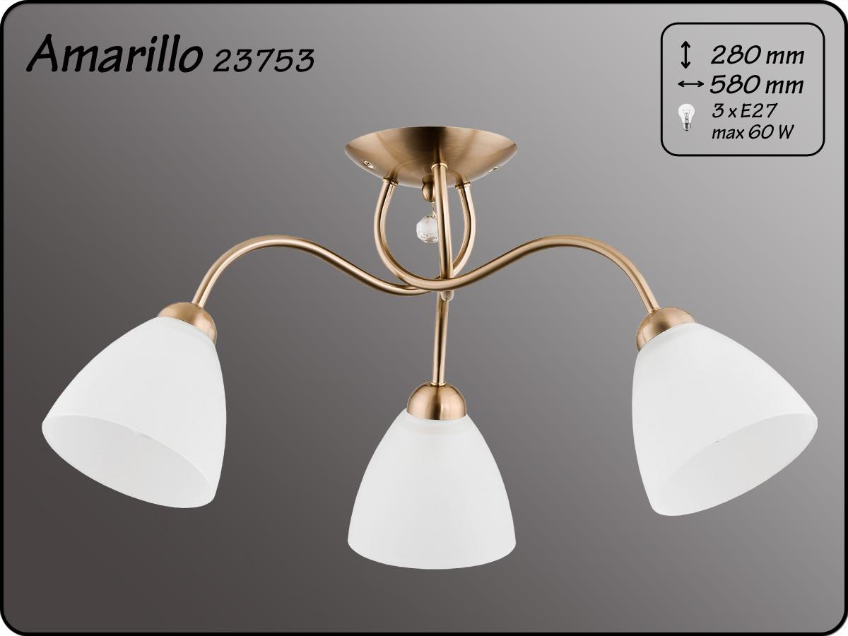 ALFA • AMARILLO PATYNA, 3 ágú mennyezeti lámpa, ALFA