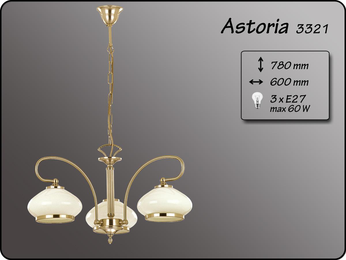 ALFA • ASTORIA, 3 ágú csillár, ALFA