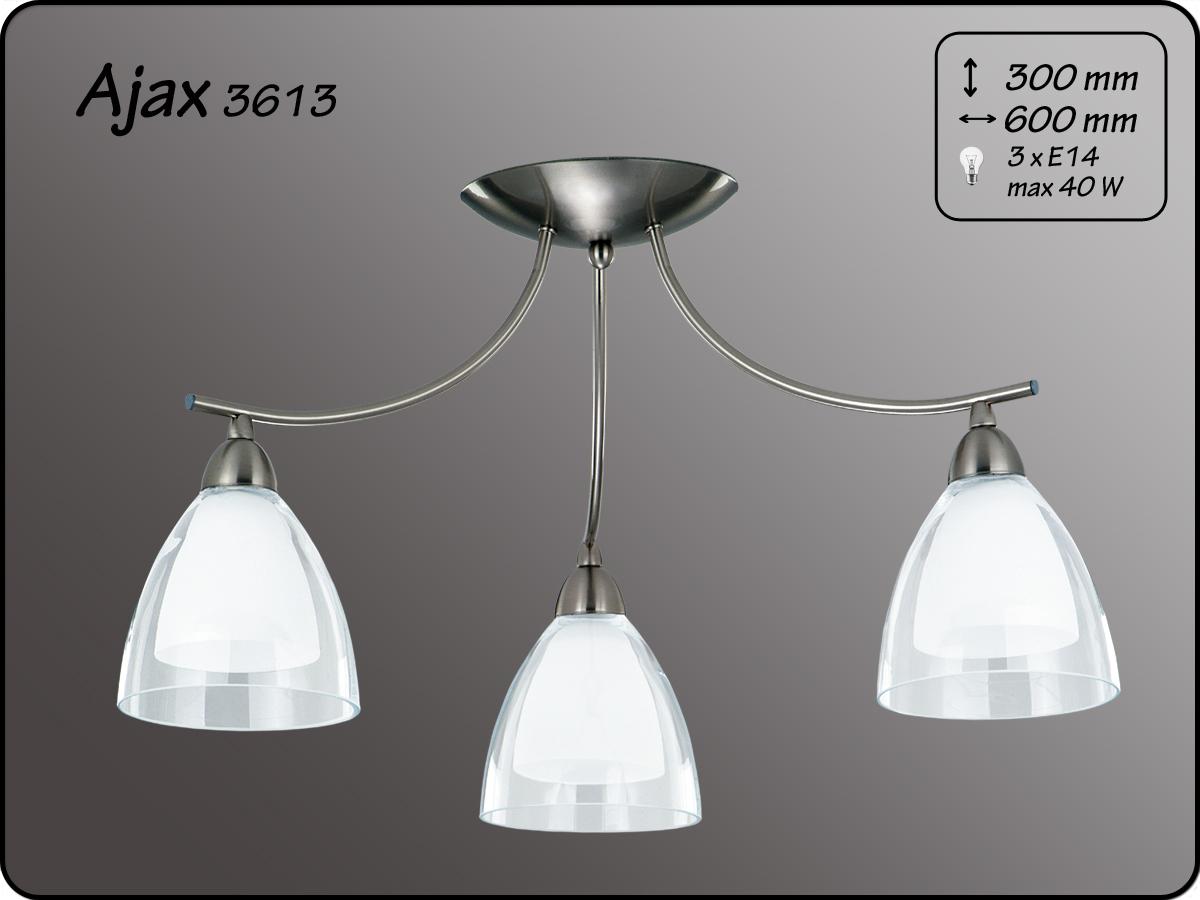 ALFA • AJAX, 3 ágú mennyezeti lámpa, ALFA