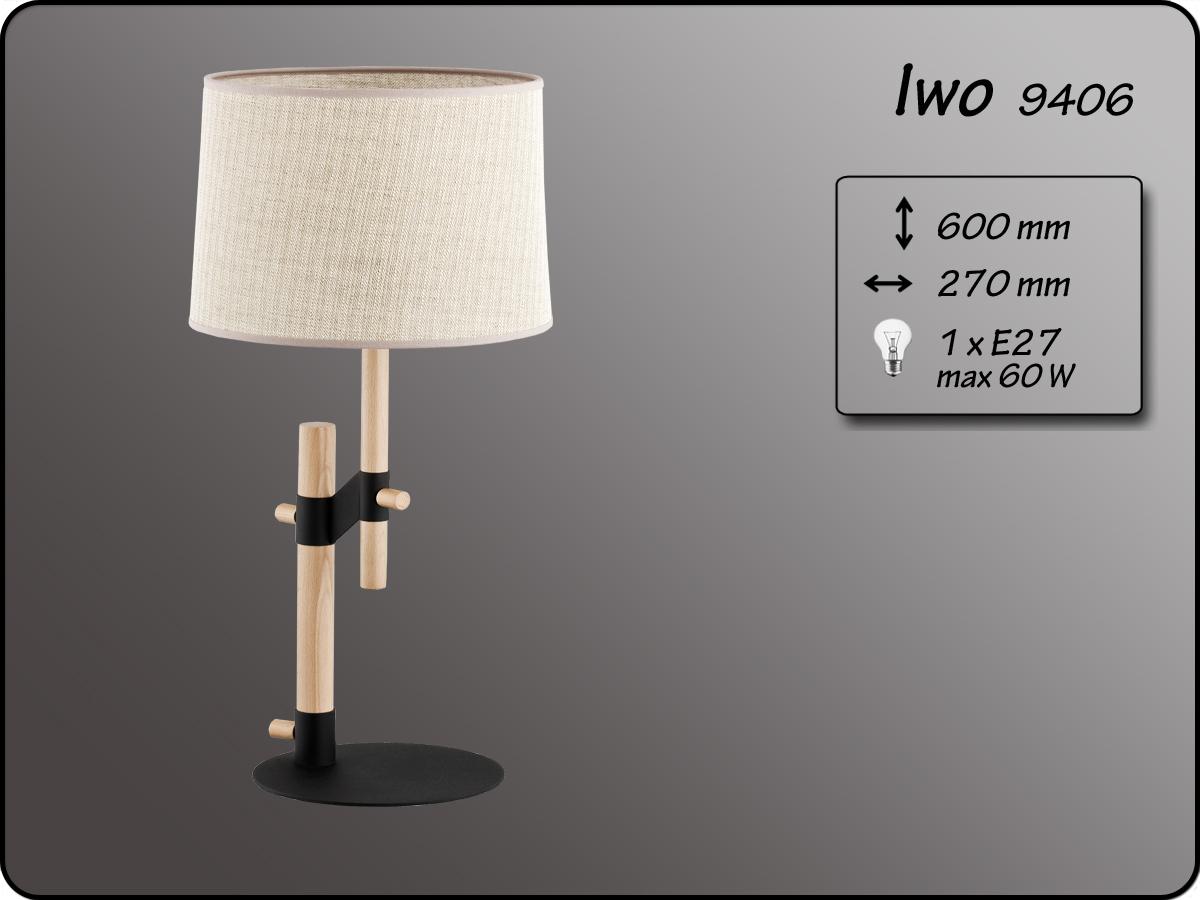 ALFA • IWO, asztali lámpa, ALFA