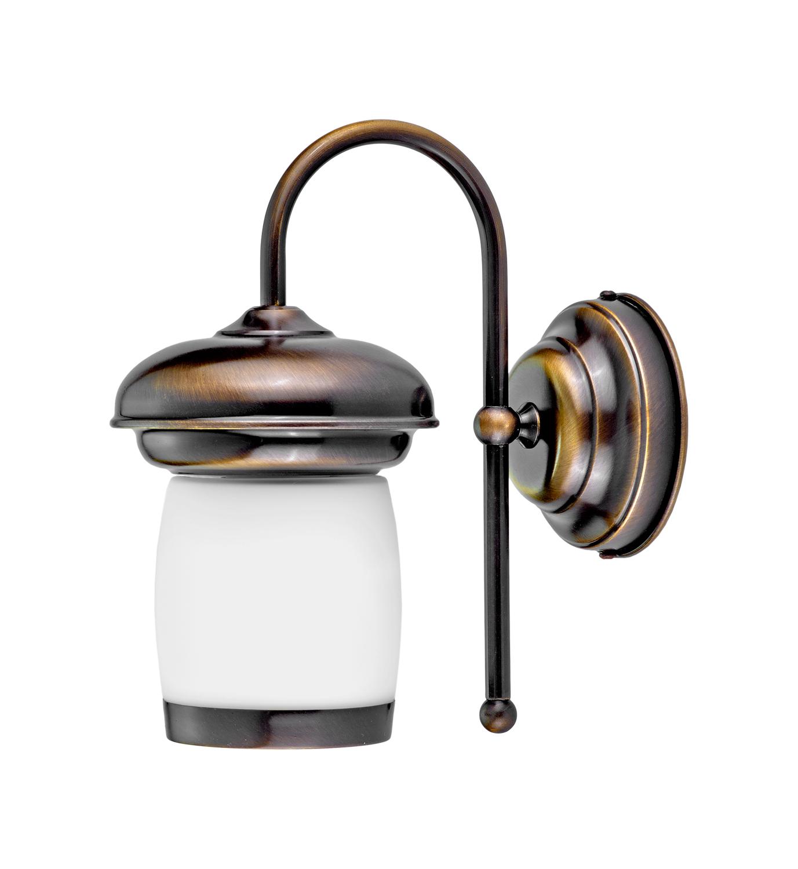 JUPITER • Liv, fali lámpa, bronz