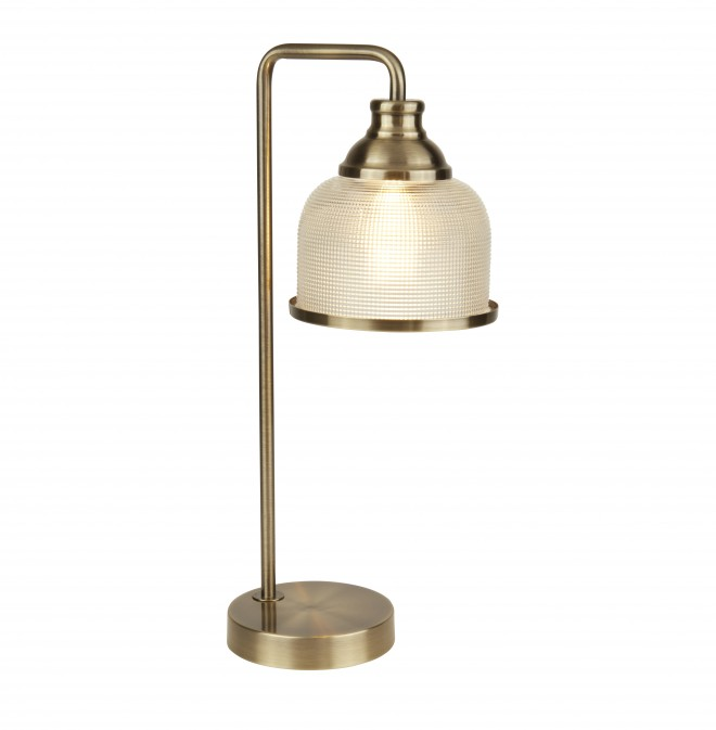 Searchlight Bistro II  BISTRO II - 1LT TABLE LAMP - AB